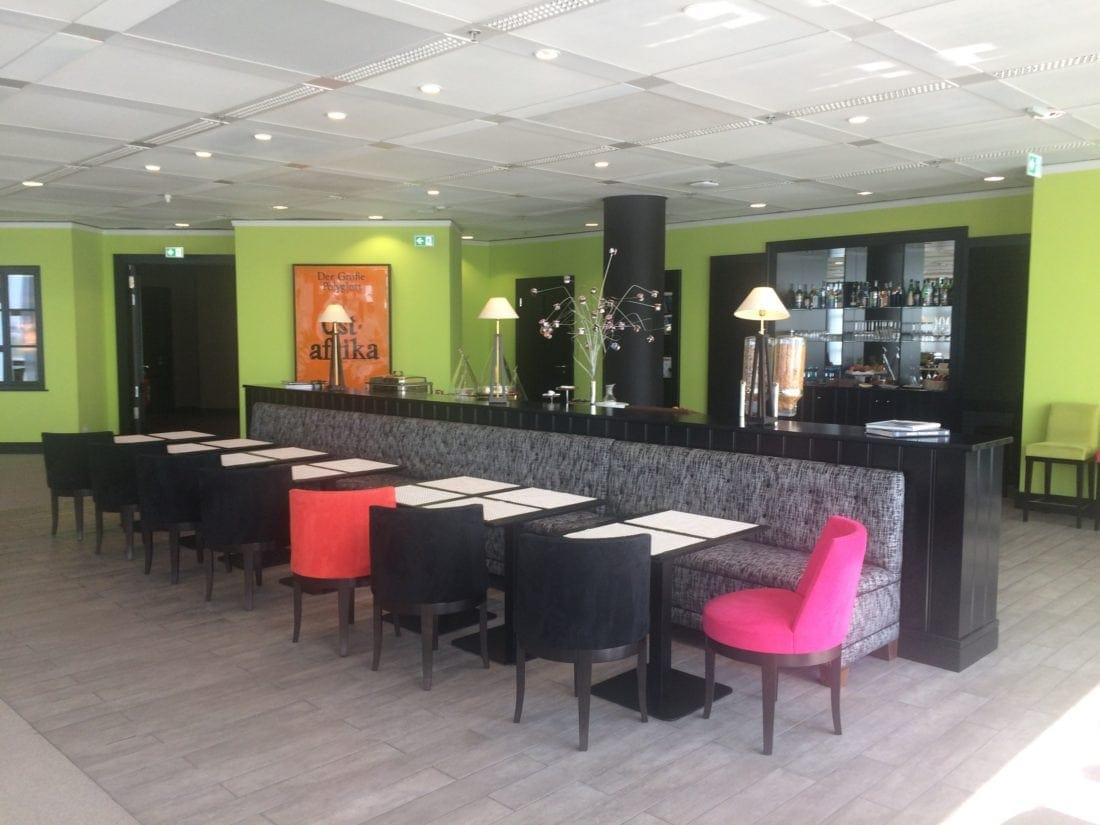 Lounge im VIP-Service des Frankfurter Flughafens