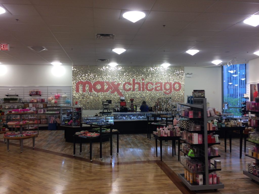 TK Maxx Shop Chicago downtown