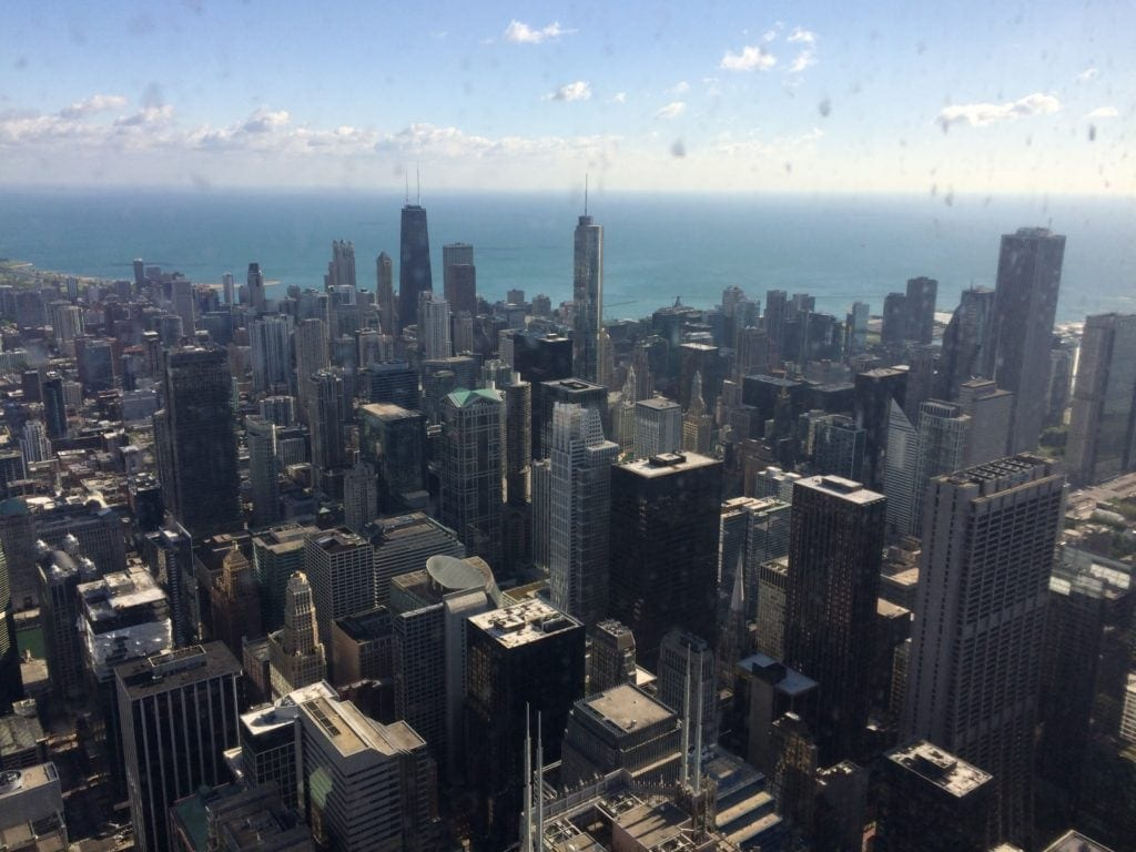 View from the Willis Tower, Chicago