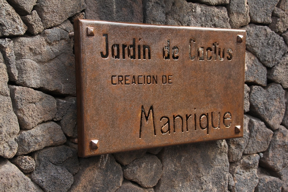 Kaktusgarten Jardín de Cactus Lanzarote