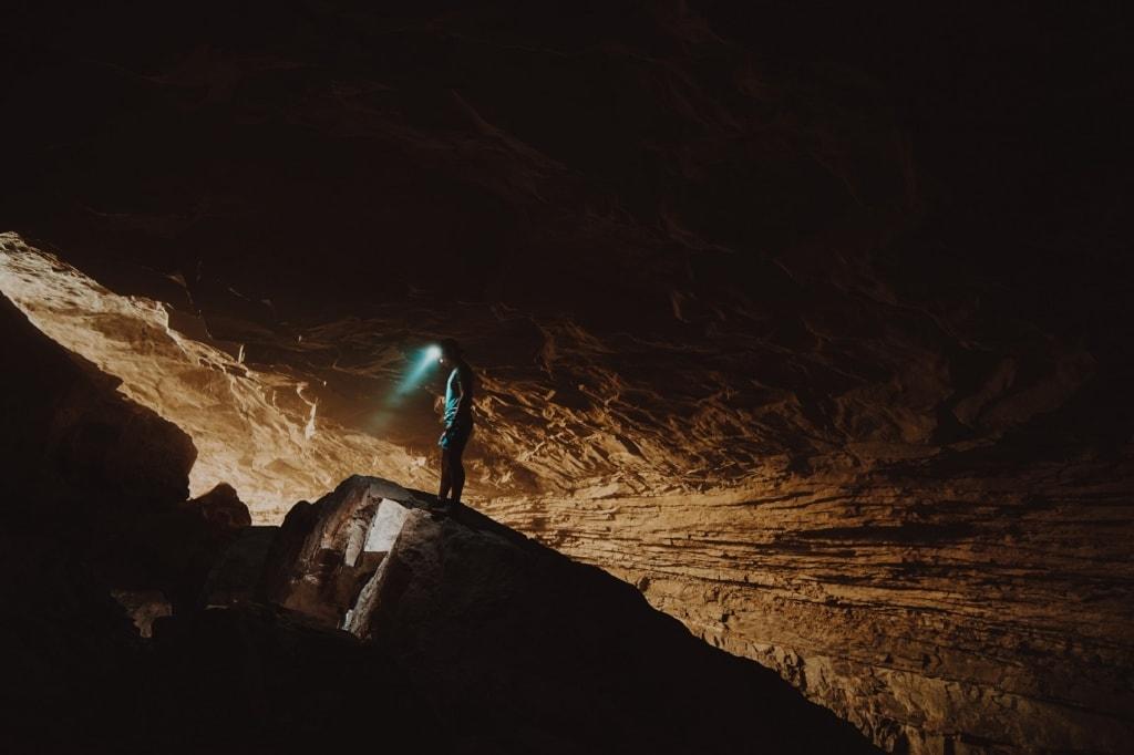 Höhlen sind eine Faszination für sich.
