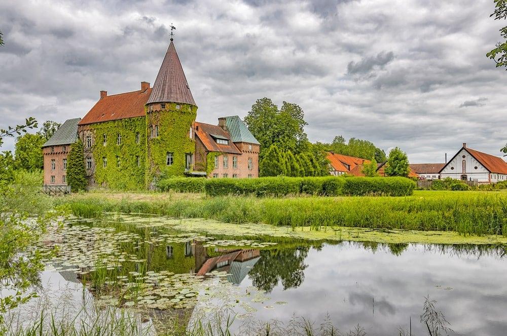 Ortofta slott Schloss Eslov Schweden