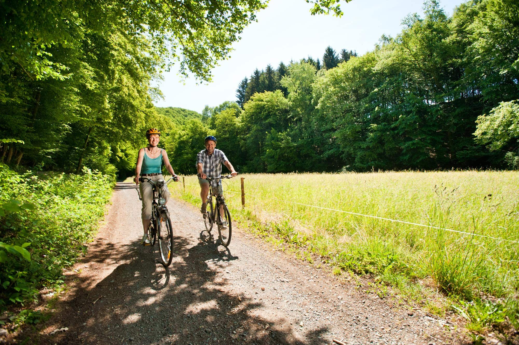 Radfahren im Spätsommer: Westerwald