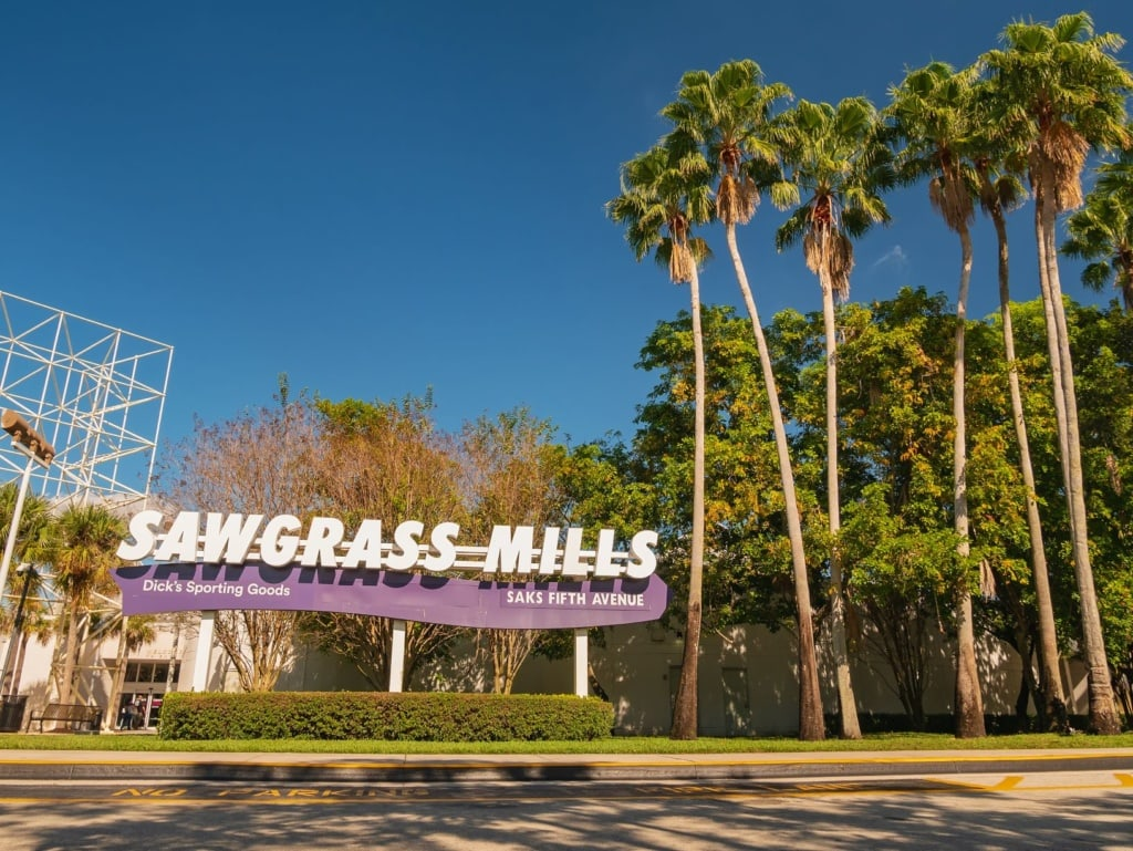 Sawgrass Mills Mall in Fort Lauderdale