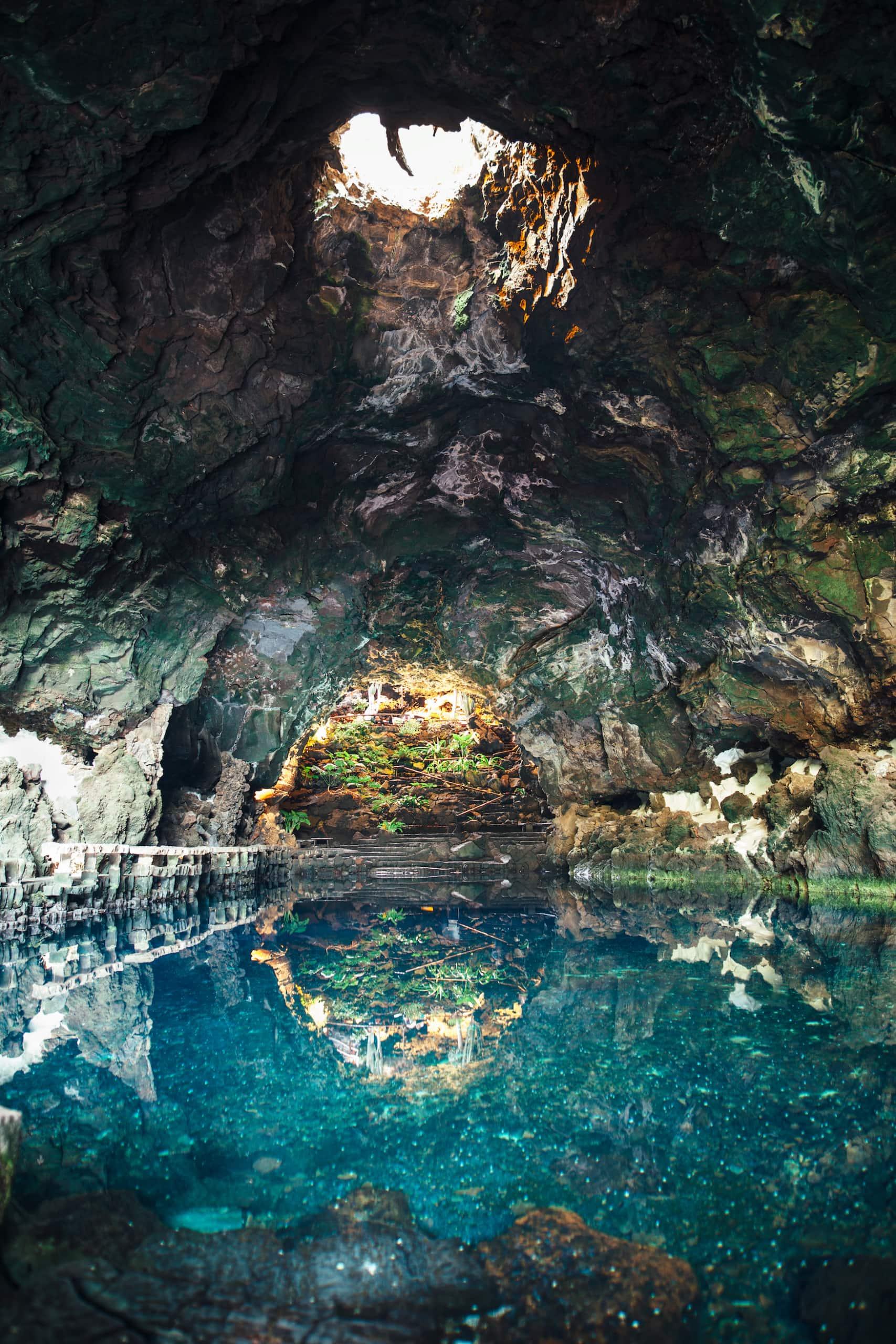 Unterwasserhöhlen Jameos del Agua auf Lanzarote