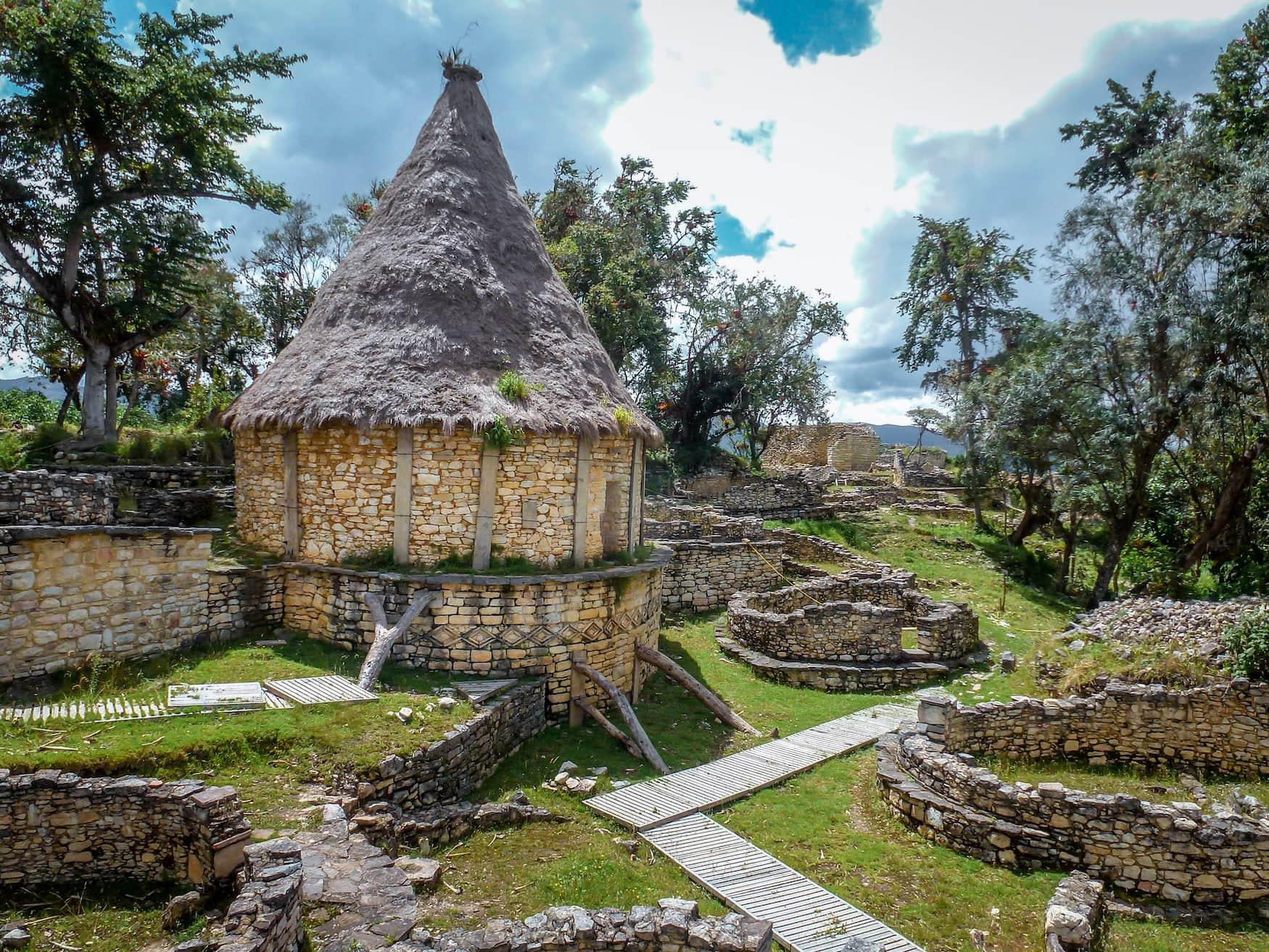 Kuélap-Siedlung in Peru