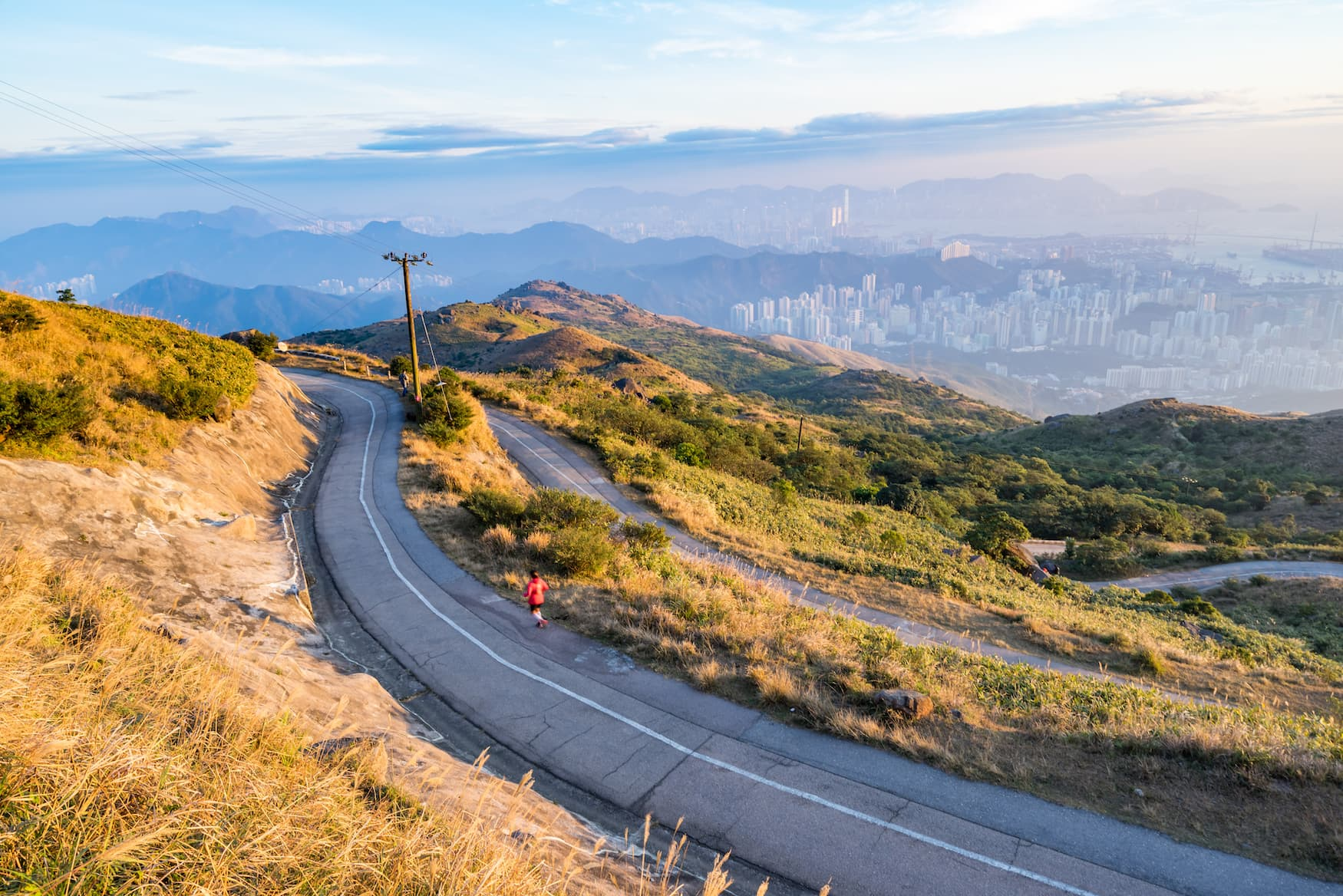 Urlaub mit dem Rad: Auf den höchsten Berg Hongkongs, den Tai Mo Shan