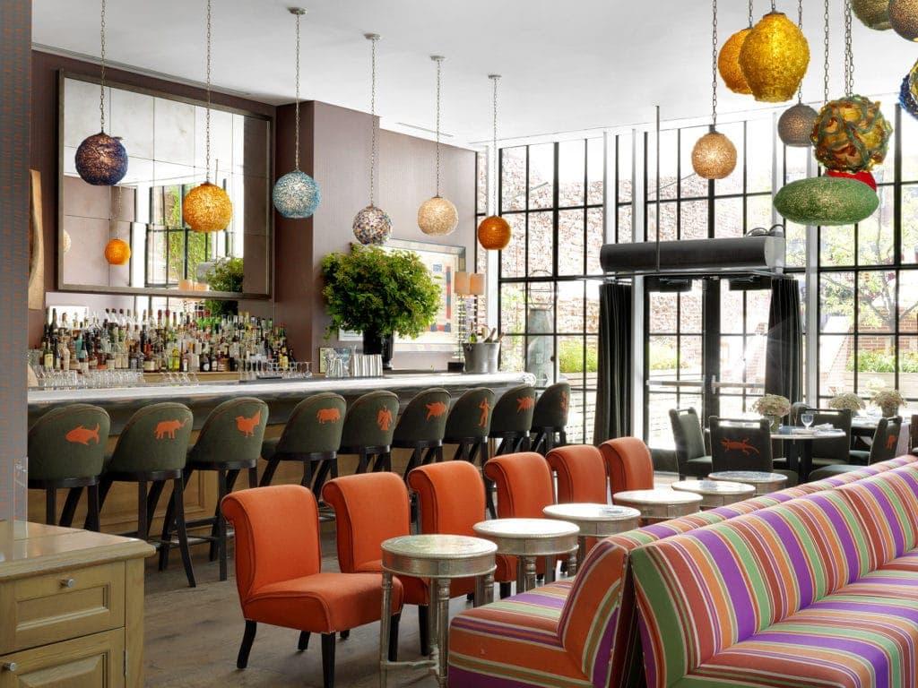 Das The Crosby Street Hotel liegt im angesagten Viertel Soho