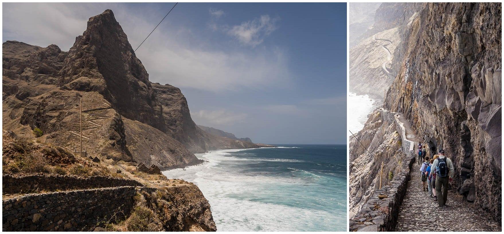 Raue Küste der Kapverden