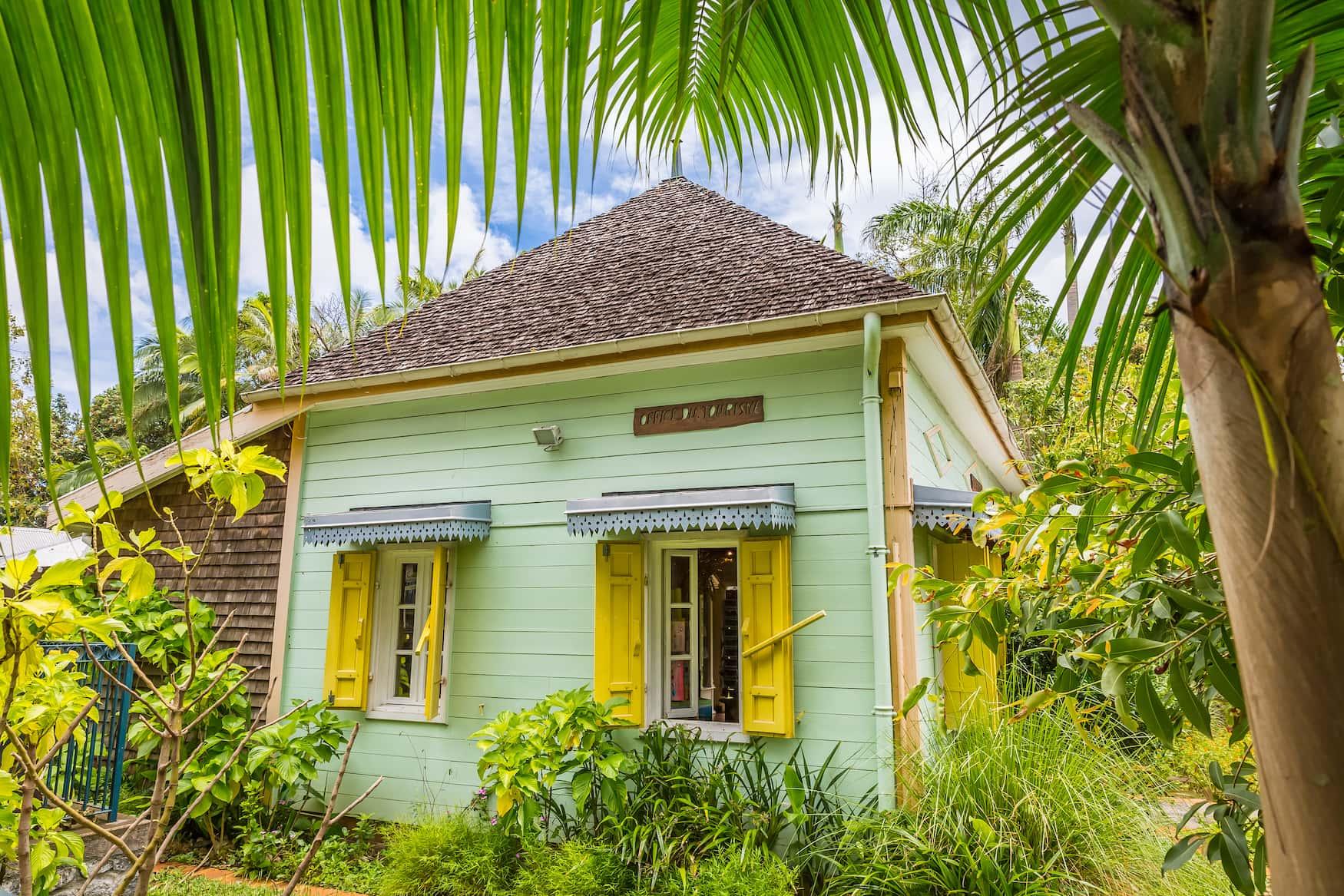 Typische Hütte auf La Reunion
