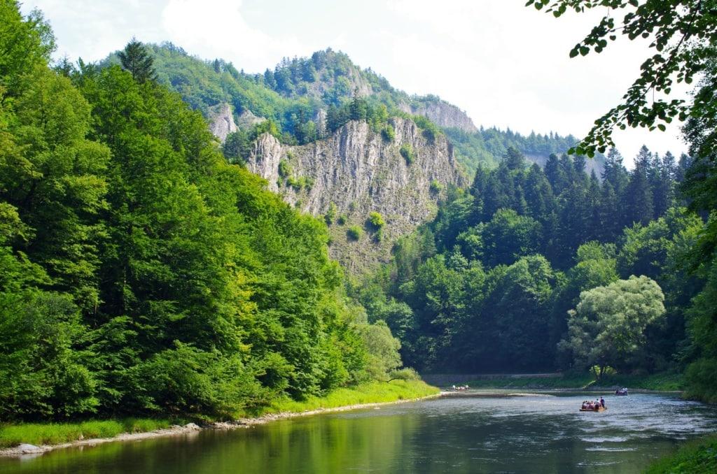 Floßfahrt auf dem Dunajec in der Slowakei