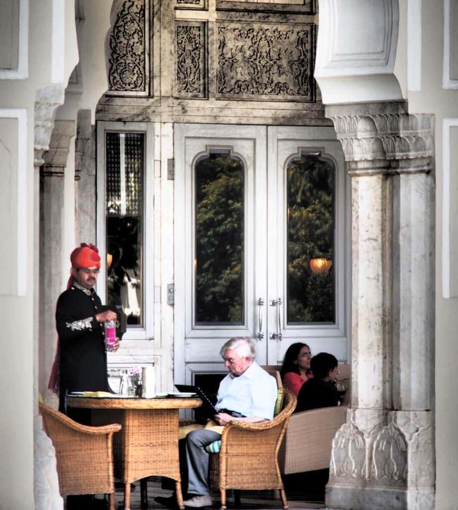 Frühstücken, wo Geschichte geschrieben wurde - im Rambagh Palace - jaipur