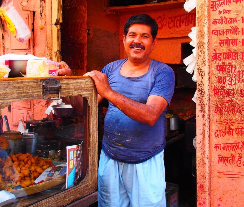 In den Straßen von Jodhpur