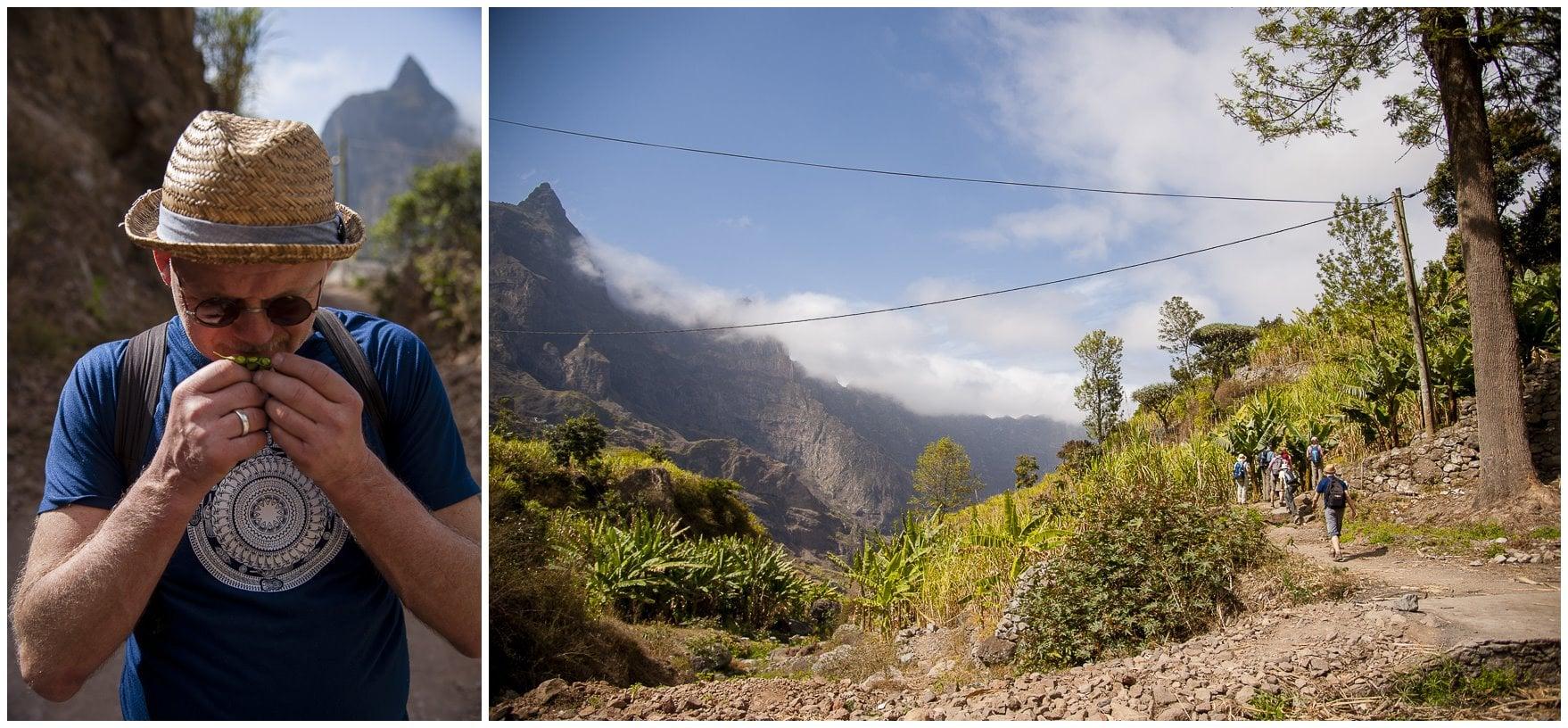 Landschaft auf den Kap Verden