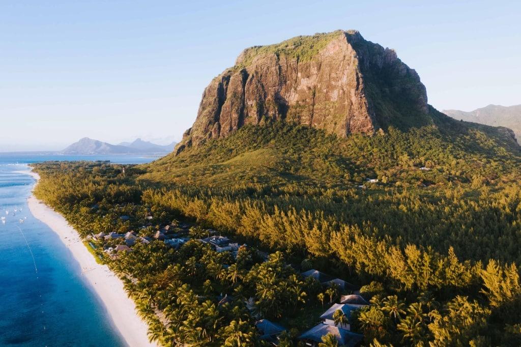 Der Le Brabant ist die bekannteste Sehenswürdigkeit Mauritius.