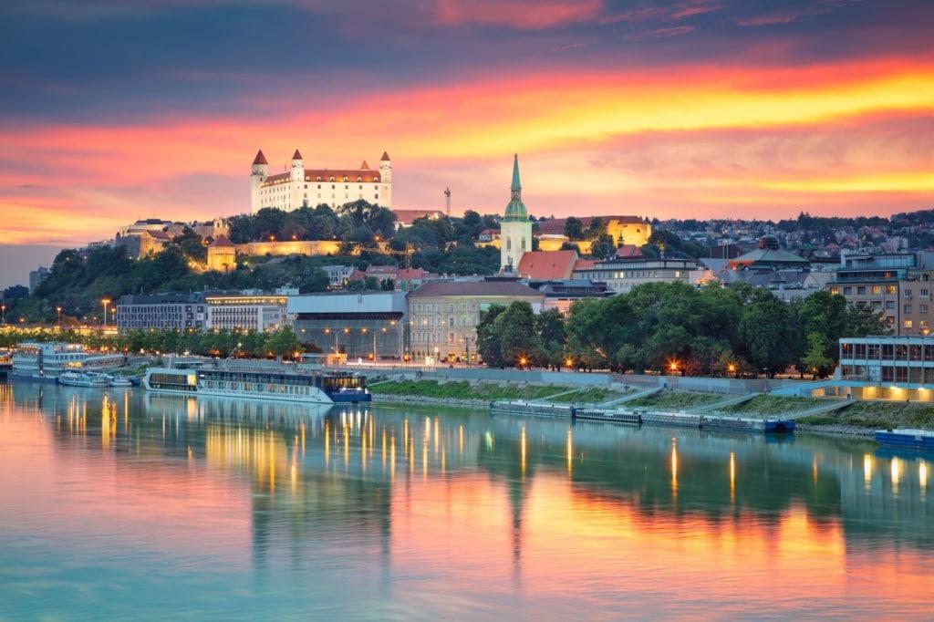 Panorama von Bratislava