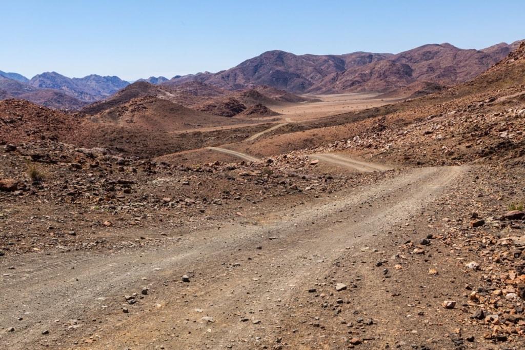 Straße im Ai-Ais-Richtersveld-Nationalpark in Südafrika
