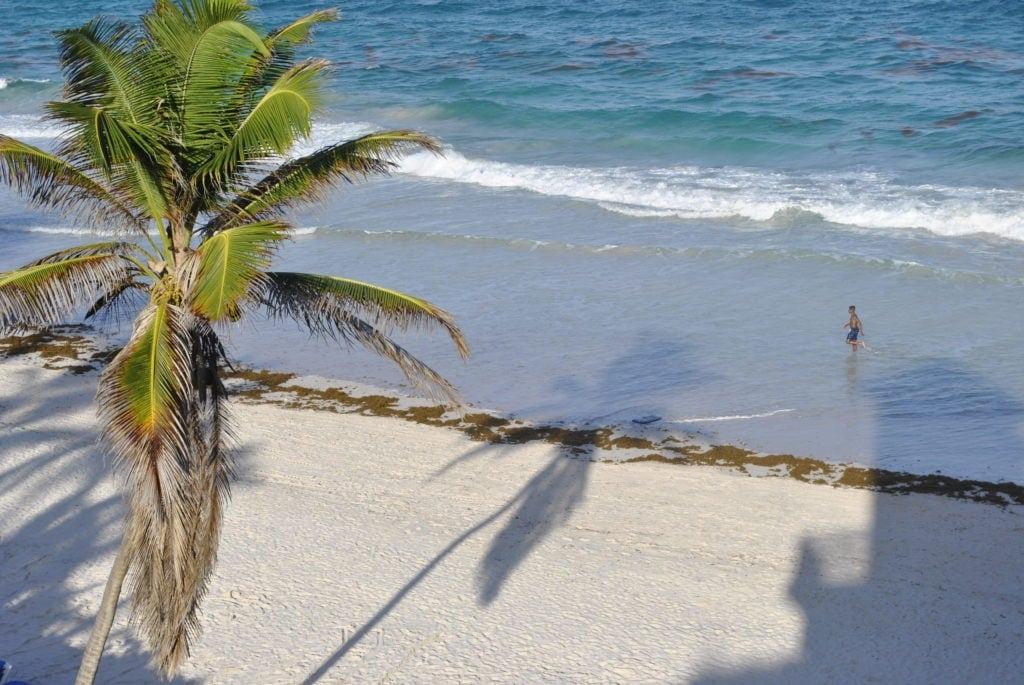Barbados Traumküste lädt zum Baden ein.