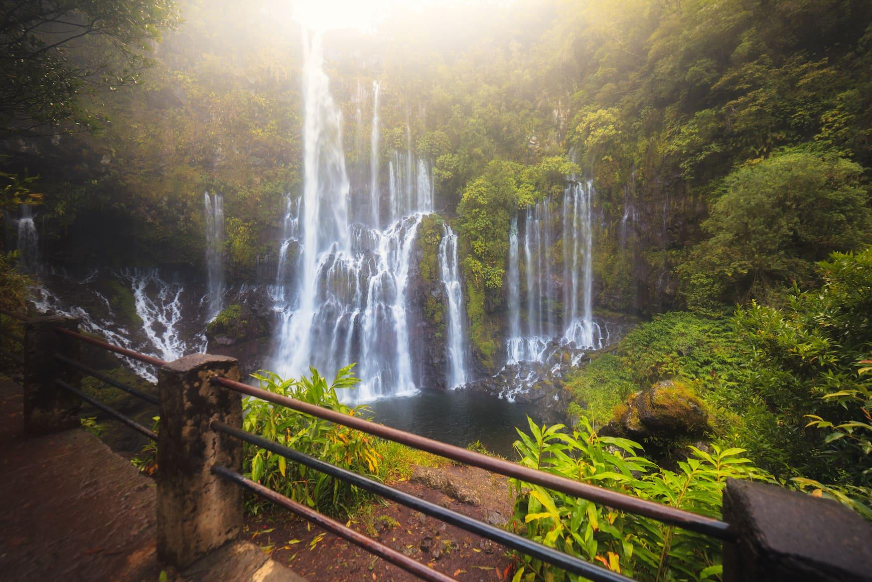 Wasserfälle auf La Reunion