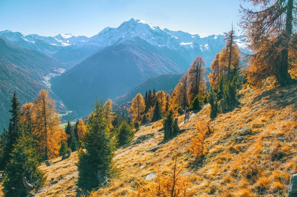 Die Landschaft im Stiflersjoch ist einfach grandios.