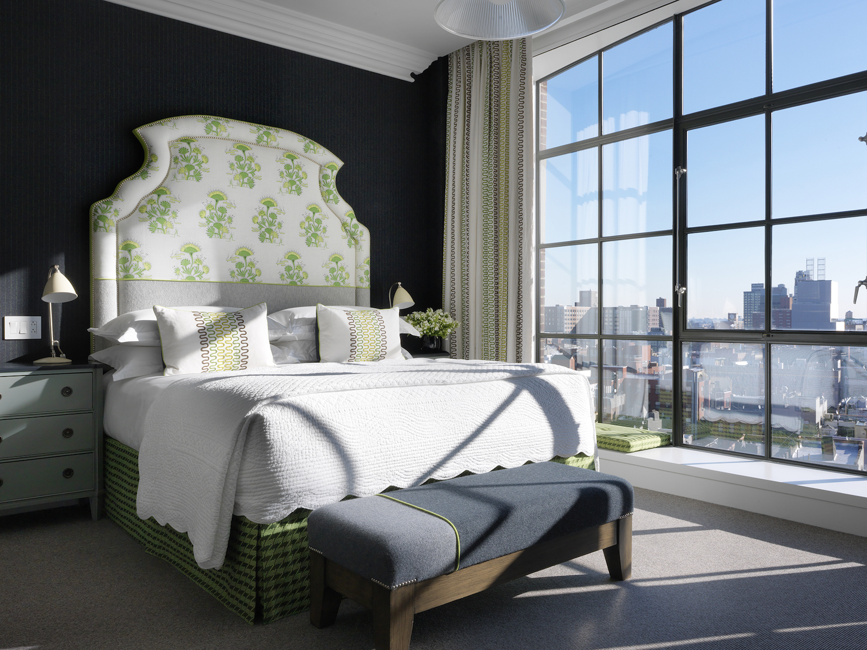 Zimmer im Crosby Street Hotel in New York
