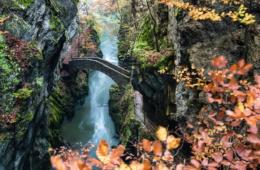 Die Schlucht Areuse, Jura & Drei-Seen-Land
