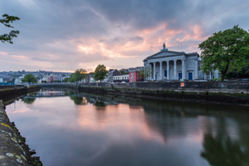 Sonnenuntergang in Cork