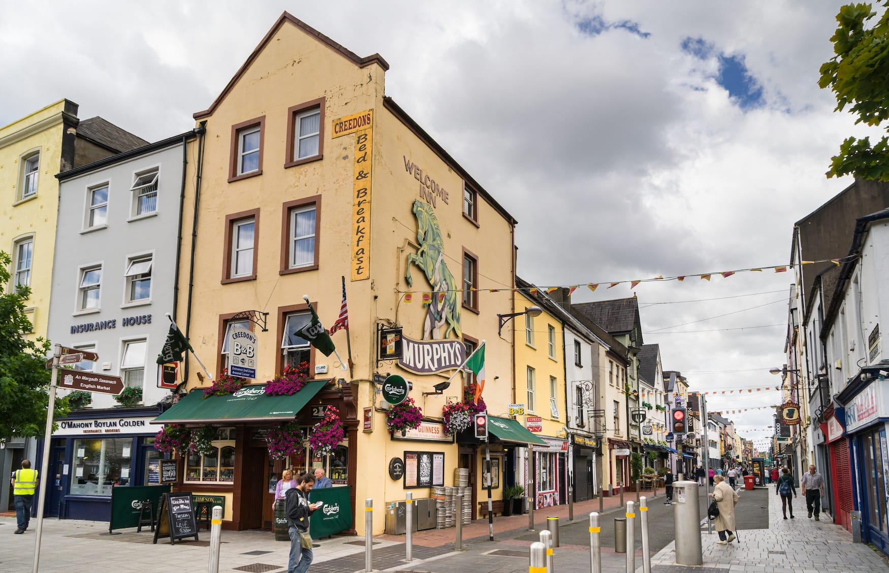 Pubs im Stadtzentrum von Cork, Irland