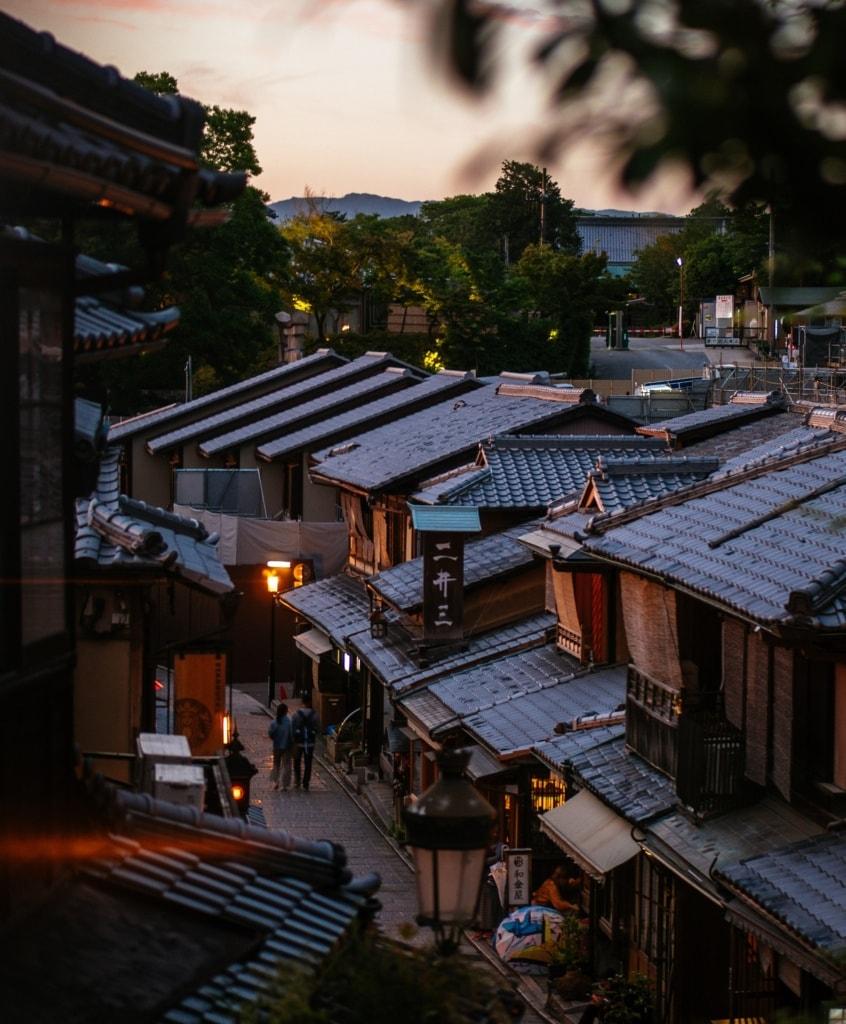 Auch in Kyoto gibt es tolle Ryokans, die eine authentische Erfahrung garantieren.