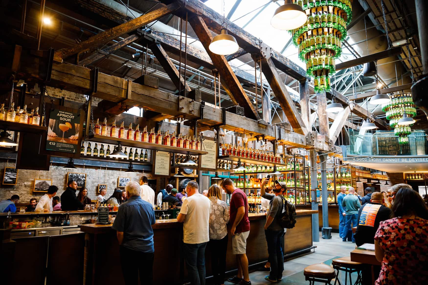 Old Jameson Distillery in Dublin