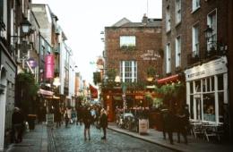 Temple Bar - Eine der größten Sehenswürdigkeiten in Dublin