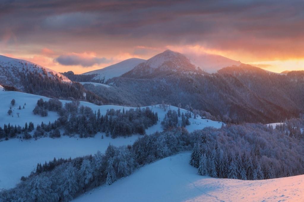 Winter in der Hohen Tatra