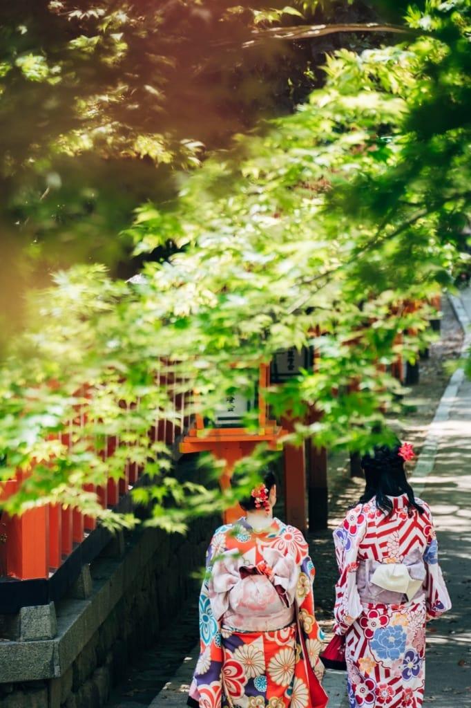 Geishas sind ein wichtiger Teil der Kultur Japans - ebenso Ryokans.