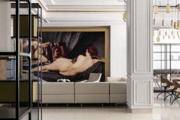 Gran Melia Palacio Duques Lobby in Madrid
