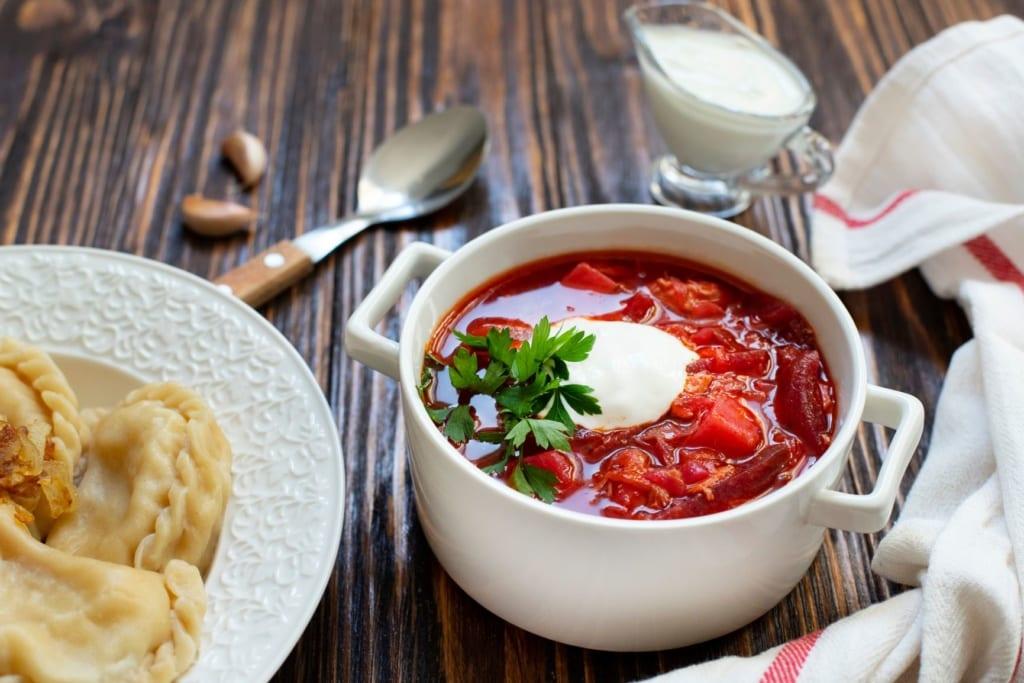 Bortsch-Suppe