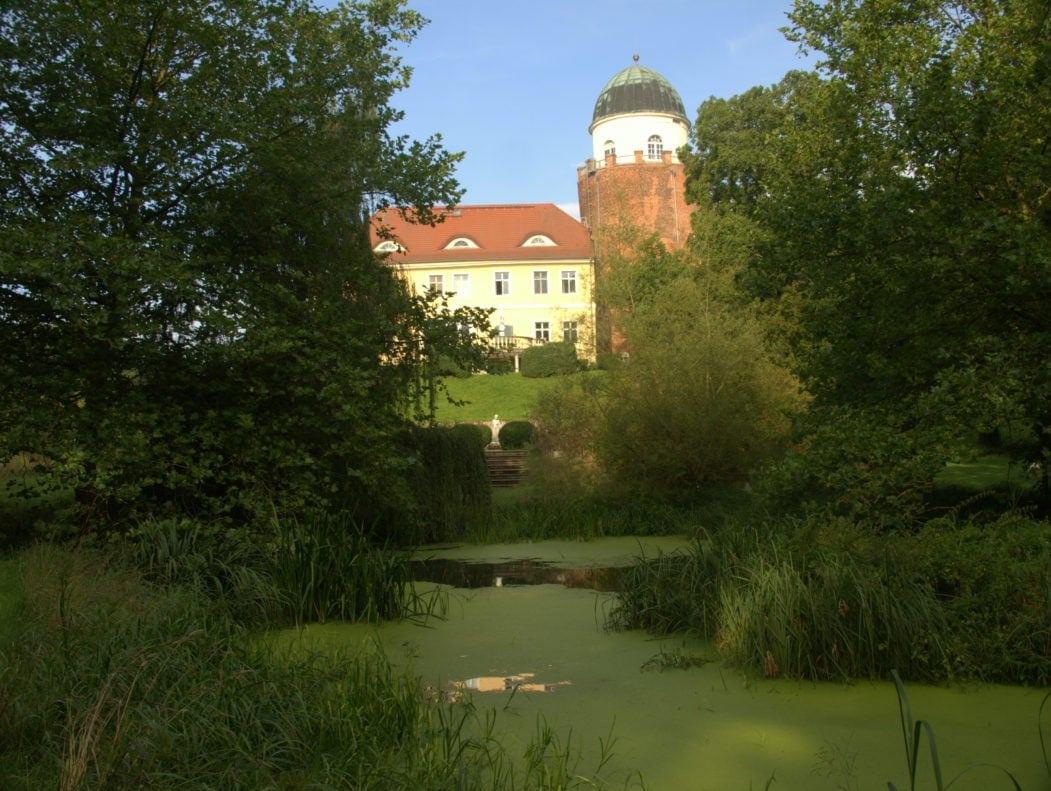 Garten der Burg Lenzen in der Prignitz