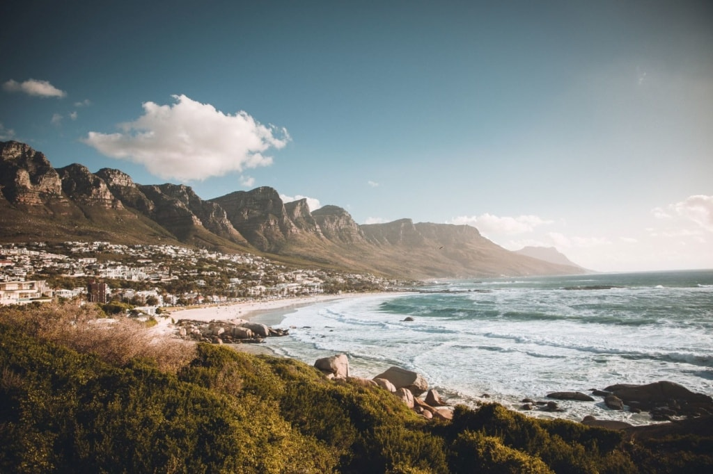 Strand Camps Bay in Kapstadt