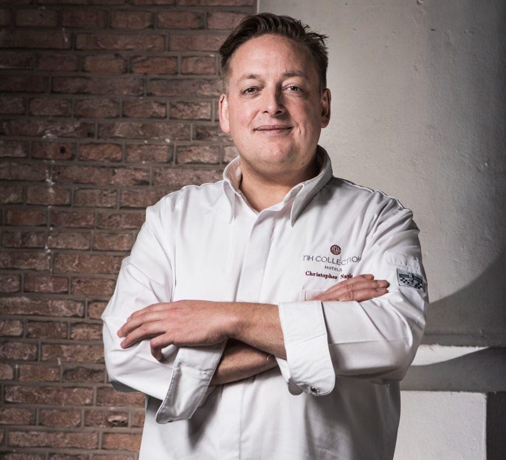 Chefkoch Chris Naylor aus dem Restaurant Vermeer in Amsterdam