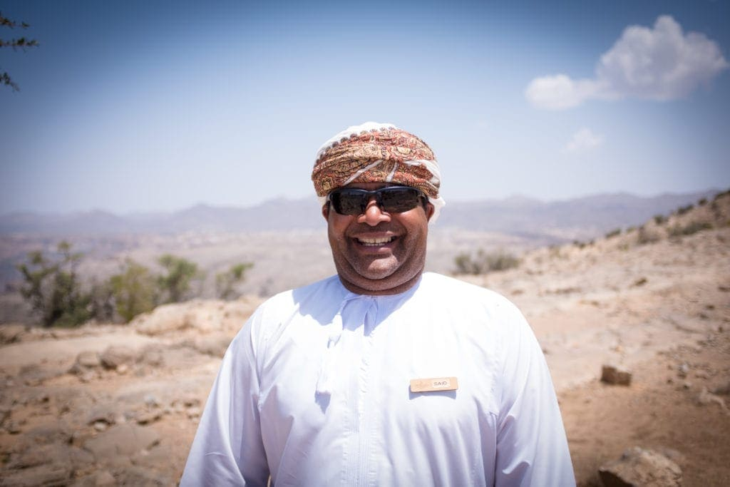 Reiseführer des Anantara Al Jabal Al Akhdar Resort