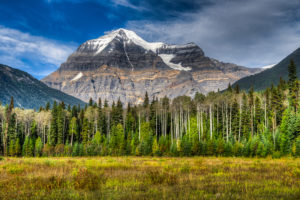 Mount Robson in Kanada