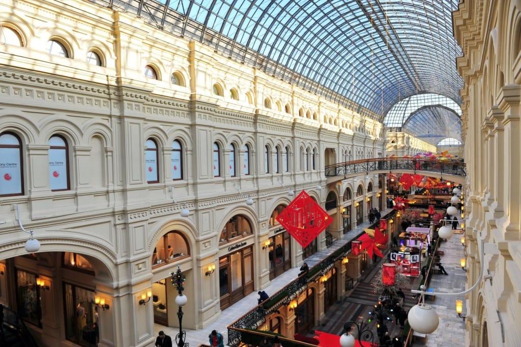 GUM-Kaufhaus in Moskau