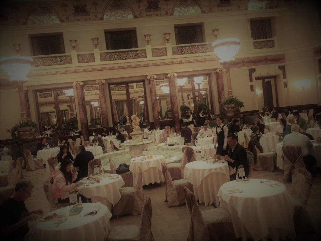 Frühstückssaal im Hotel Metropol in Moskau