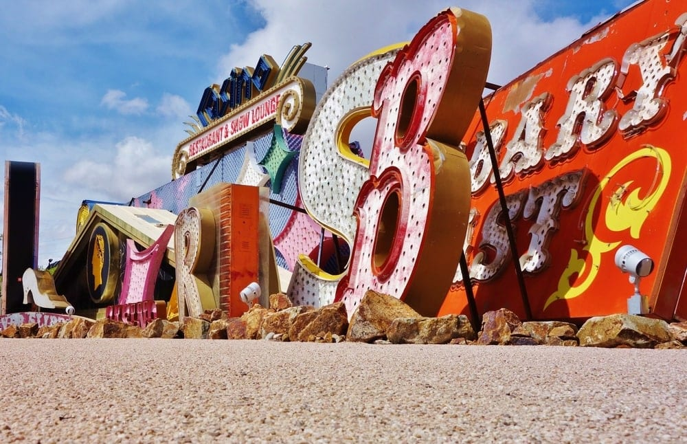 Neon Boneyard in Las Vegas