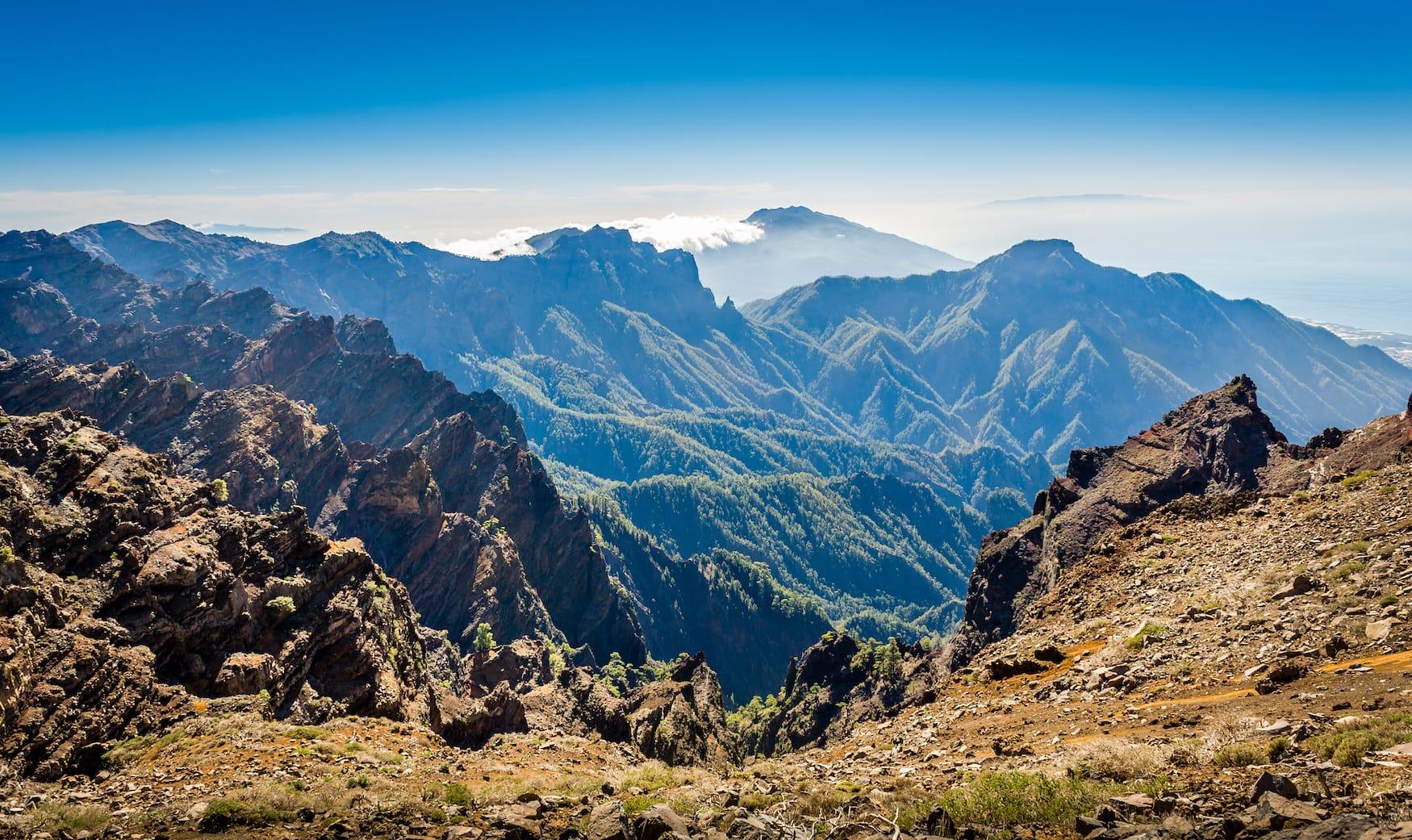 Berge, La Palma, Spanien, Insel