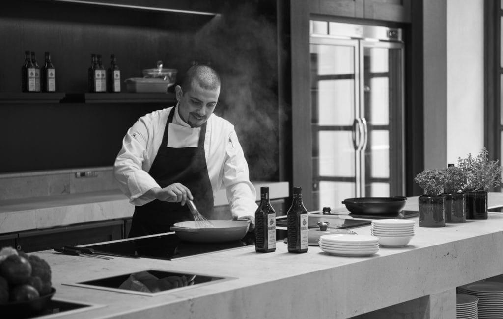 Chefkoch Manuel Pereira im Park Hyatt Mallorca
