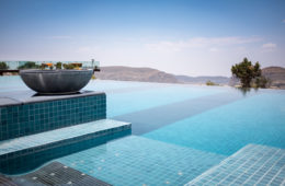 Pool im Anantara Al Jabal Al Akhdar Resort