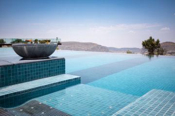 Pool im Anantara Al Jabal Al Akhdar Resort
