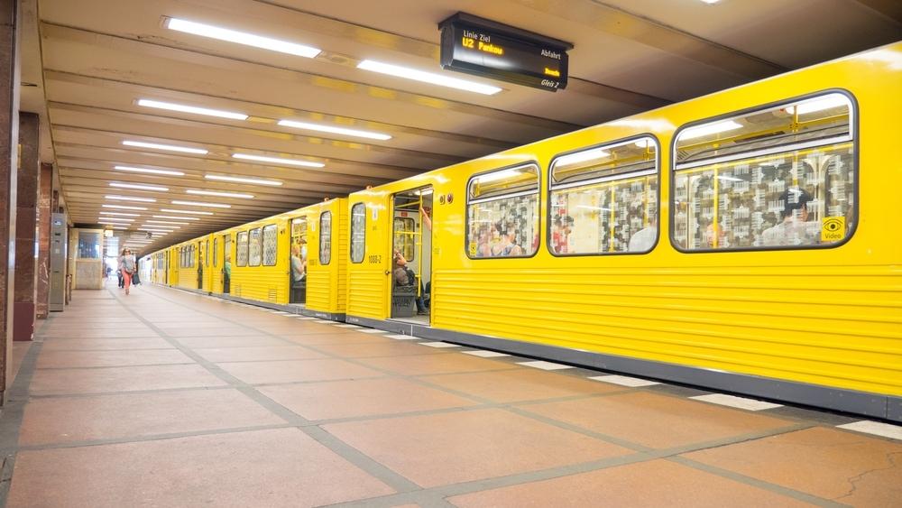 U-Bahnstation in Berlin
