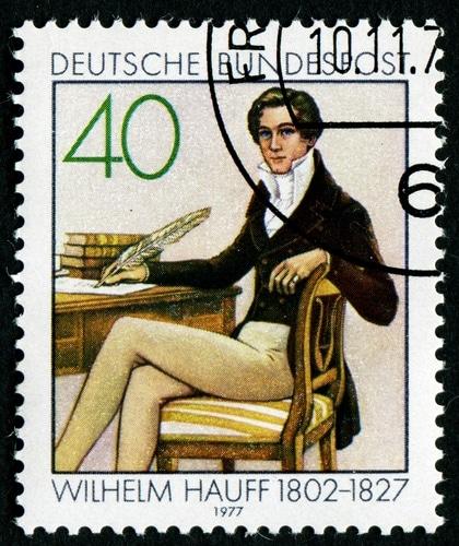 Wilhelm Hauff auf einer Briefmarke