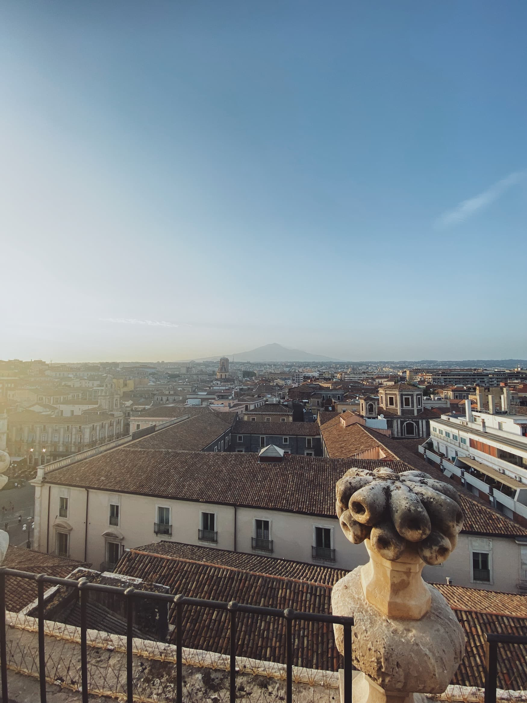 Blick auf den Ätna nahe Catania